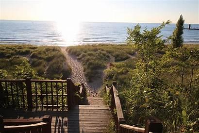Haven South Beach Beaches Michigan Vacation Lake