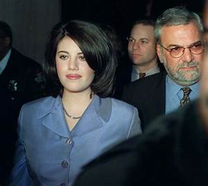 Here39s What Monica Lewinsky Said The First Time She Broke