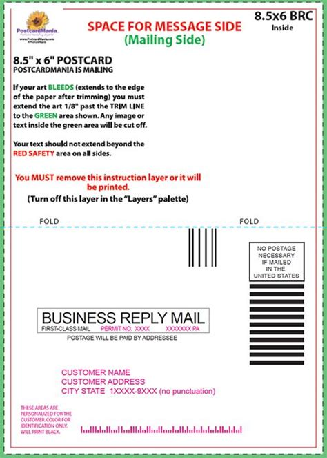 Business Reply Mail Template by Business Reply Mail Template Adktrigirl