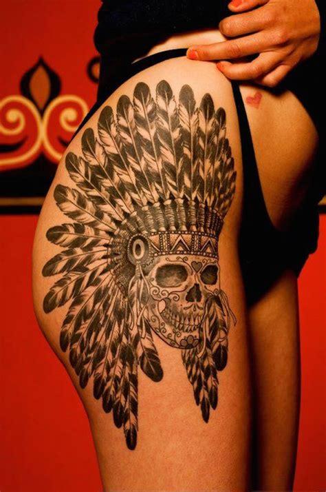 sexiest thigh tattoos  girls