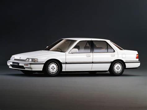 Honda Accord Sedan 1987 1989 Design Interior Exterior