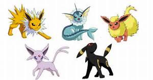 pokemon eevee evolutions images