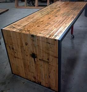 Arbeitsplatte Als Tisch : schreibtisch selber bauen 106 originelle vorschl ge ~ Sanjose-hotels-ca.com Haus und Dekorationen