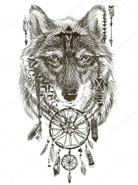 Tatouage Indienne Et Loup  Galerie Tatouage