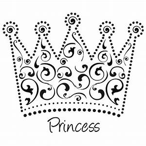 Beautiful Princess Crown Coloring Page | Lesson 1 I am a ...