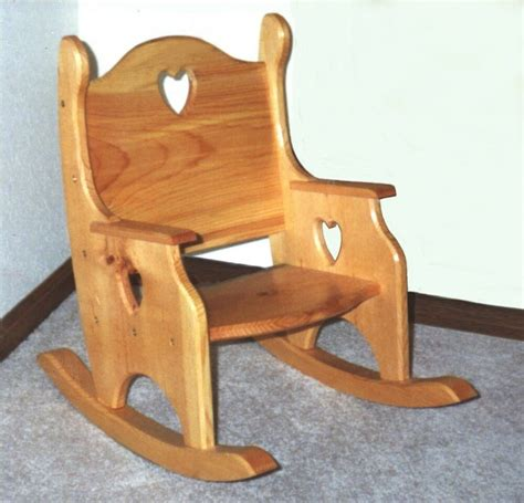 toddler childs rocker rocking chair plans patterns ebay