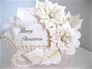 Spellbinders Poinsettia Flower Card
