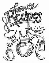 Pages Binder Recipe Coloring Printable Recipes Templates Cool Covers Adults Sheets Cooking Books Binders Scrapbook Printables Journal Getdrawings Adult Baking sketch template