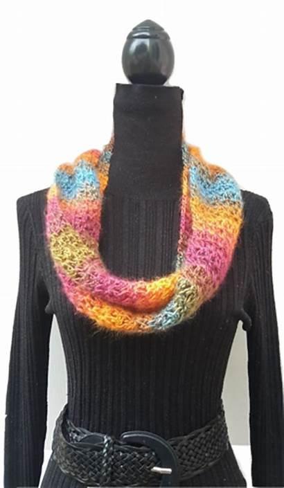 Crochet Scarf Ravelry Skinny Skein Yarn Patterns