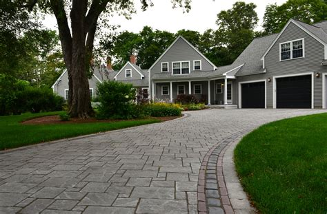 unilock brewster selecting the driveway pavers for your island