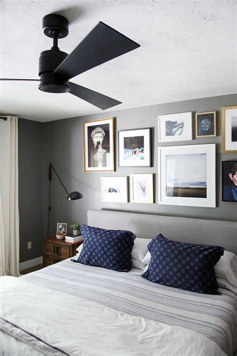 modern ceiling fan   bedroom chris loves julia