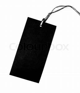 clothing hang tag blank template blank tag label isolated With blank clothing labels