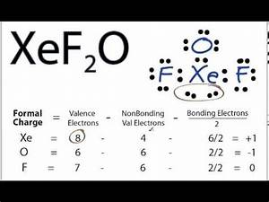 Xef2o Lewis Structure How To Draw The Lewis Structure For ...