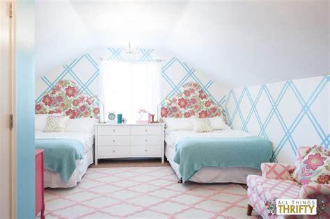 Decorating Ideas For Tween Bedroom by Tween Bedroom Makeover Gold Turquoise Magenta