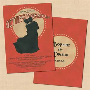 1920s wedding stationery ideas hitchedcouk With brown paper wedding invitations uk