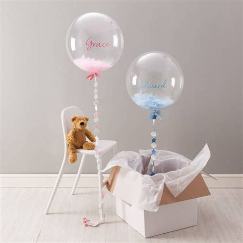 cute balloon decor ideas  baby showers digsdigs