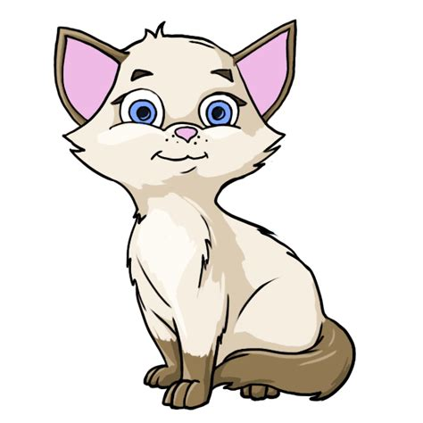 animated cat cat drawings cliparts co