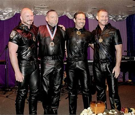 mr palm springs leather dinner november 13 09