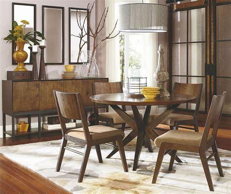 kateri hazelnut  pedestal dining room set  legacy