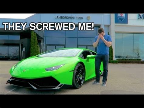Lamborghini Maintenance Costs How Much?! Youtube