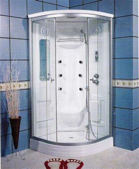Integrated Shower Units by Corner Shower Units For Small Bathroom Solving Space