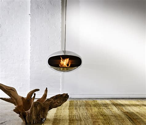 cocoon aeris fire suspended fireplace wharfside