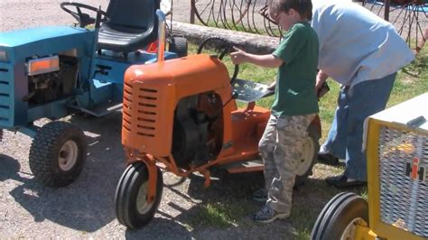 bantam tractor cold start youtube