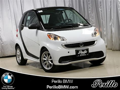pre owned  smart fortwo electric drive passion car