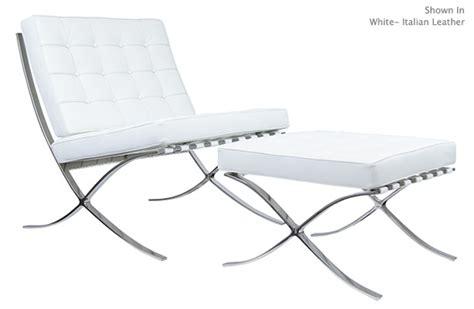 pavilion chair and ottoman barcelona chair