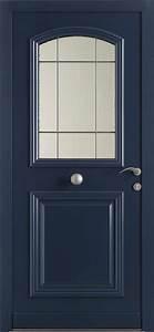 portes d39entrees mixte bois aluminium k par k With porte d entrée bois alu