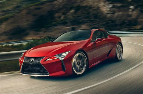 The 2018 Lexus Lc 500 Delivers In Every Area  Blue Ribbon