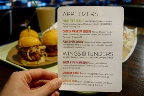 wahlburgers menu dining summer appetizers pulled pork topped slider those brand there