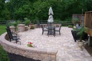 best for patio brick vs stone what is your best patio option paul construction