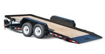 Flat Deck Gooseneck Trailers by Tilt Trailer Full Tilt 5 6 7 Amp 8 Ton Models