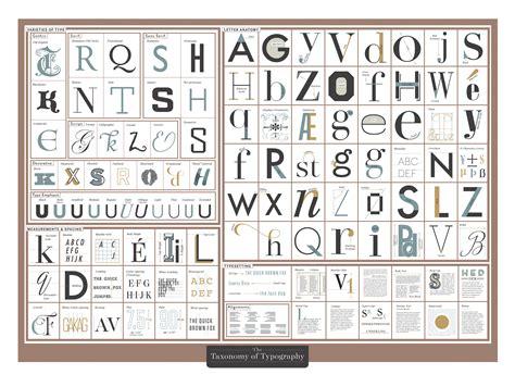 taxonomy  typography  images typography