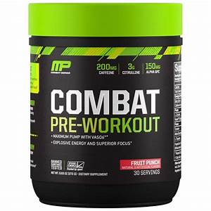 Muscle Pharm Combat Pre Workout Review 2019