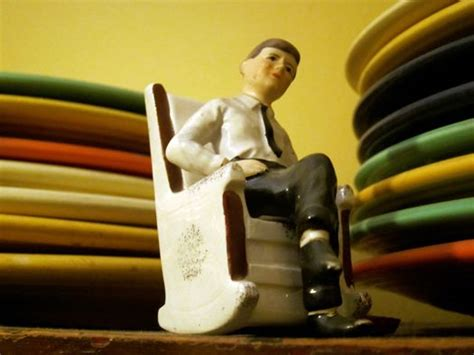 jfk in his rocking chair salt pepper shakers oval