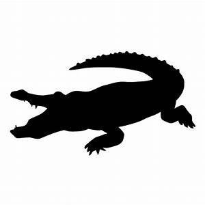 Crocodile Silhouette | Clipart Panda - Free Clipart Images