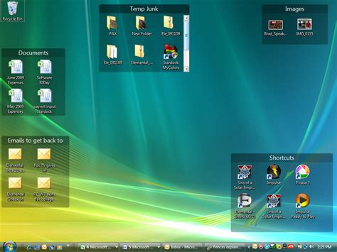 organiser bureau windows 7 organiser les icones du bureau les forums de macgeneration