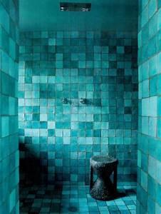 Fliesen Im Badezimmer : t rkis wand im badezimmer moderne blaugr ne fliesen ~ Sanjose-hotels-ca.com Haus und Dekorationen
