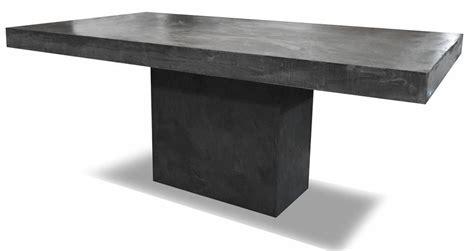plateau de bureau sur mesure fabricant de mobilier en béton ciré à cyr près de