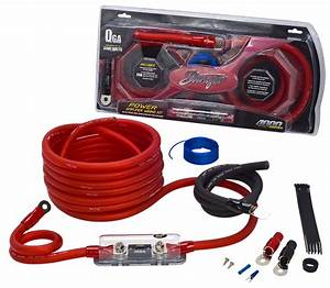 Brand New Stinger Power Amplifier Wiring Kit 1  0 Gauge
