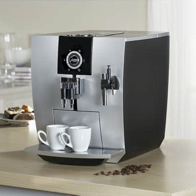 When looking at all of the different jura coffee makers, you will notice that this one is the most expensive. Impressa J5 - Automatic Coffee and Espresso Machine - Tuvie