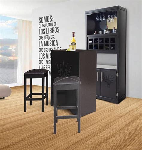 mueble cantina bar casa madera modernas minimalista barra  en mercado libre