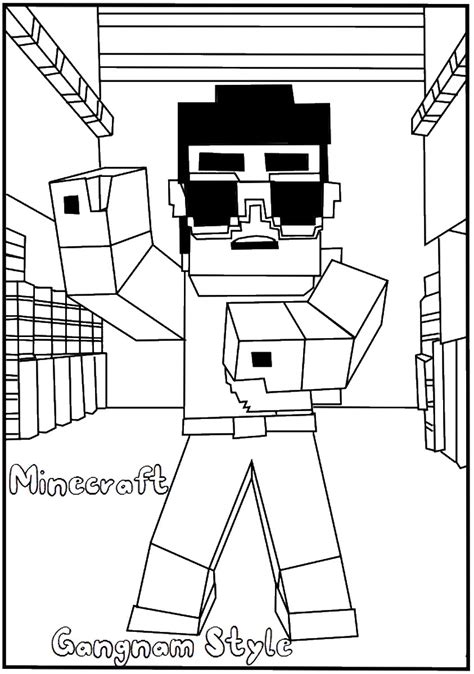 Minecraft Coloring by Minecraft Coloring Pages Birthday Printable