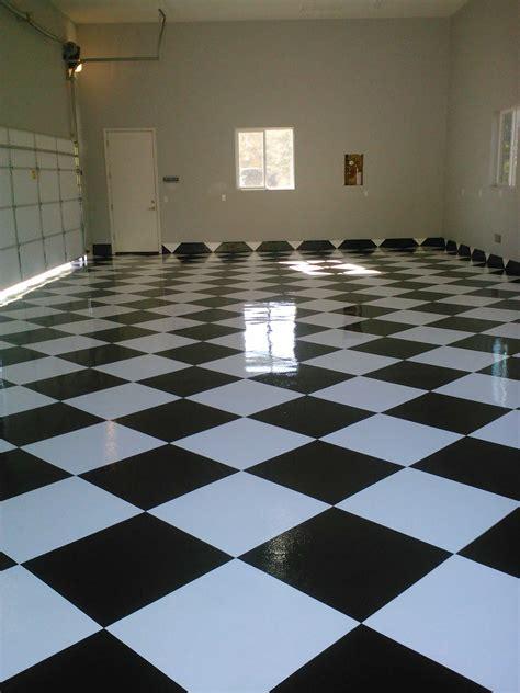 checkered garage floor tiles epoxy garage floors san diego garage excell