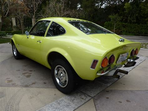1970 Opel Gt For Sale by Bat Exclusive S 1970 Opel Gt Bring A Trailer