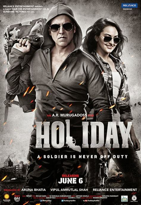 Akshay Kumars Holiday First Look Posters No1hdwallpapers