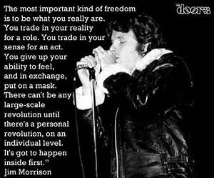 The Doors Jim M... Jim Morrison Hero Quotes