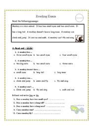 reading passages for 6th grade reading comprehension test for grade 3